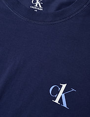 Calvin Klein - S/S JOGGER PJ SET - pyjamas - blue top/ numero uno stripe bo - 4