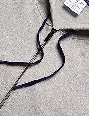 Calvin Klein - FULL ZIP HOODIE - basic sweatshirts - grey heather w/ horoscope piec - 4