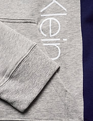 Calvin Klein - FULL ZIP HOODIE - basic sweatshirts - grey heather w/ horoscope piec - 5