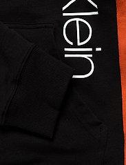 Calvin Klein - FULL ZIP HOODIE - basic sweatshirts - black w/ inferno piecing - 5
