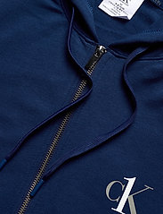 Calvin Klein - FULL ZIP HOODIE - basic sweatshirts - perth blue - 2