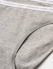 Calvin Klein - BIKINI 2PK - majtki - grey heather/grey heather - 1