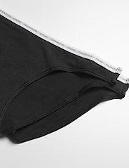 Calvin Klein - BIKINI 2PK - majtki - black/black - 1