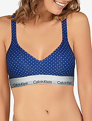 Calvin Klein - BRALETTE LIFT  - bh`er - pure dot_minnow heather - 2