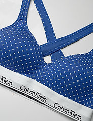 Calvin Klein - BRALETTE LIFT  - bh`er - pure dot_minnow heather - 4