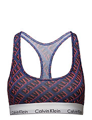 BRALETTE UNLINED - DIAGONAL SHADOW LOGO_VERVE