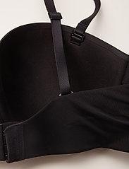 Calvin Klein - STRAPLESS LIGHTLY LI - balkonetki - black - 2