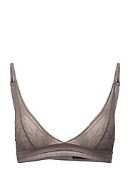 TRIANGLE UNLINED - GREY SAND