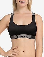 Calvin Klein - BRALETTE UNLINED - bra without wire - black - 4