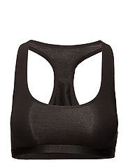 UNLINED BRALETTE - BLACK