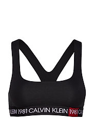 UNLINED BRALETTE, 10 - BLACK