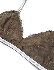 Calvin Klein - UNLINED TRIANGLE - soutien-gorge souple - muted pine - 2