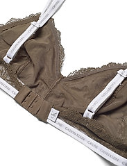 Calvin Klein - UNLINED TRIANGLE - soutien-gorge souple - muted pine - 3
