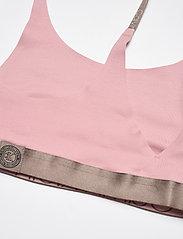 Calvin Klein - UNLINED BRALETTE - miękkie biustonosze - echo pink - 3