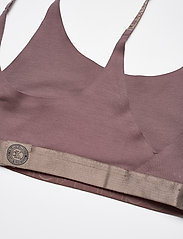 Calvin Klein - UNLINED BRALETTE - miękkie biustonosze - plum dust - 3