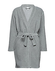 ROBE - GREY HEATHER