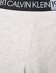 Calvin Klein - LEGGING - doły - snow heather - 4
