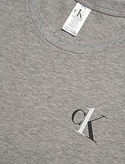 Calvin Klein - S/S NIGHTSHIRT - nachtjurken - grey heather - 2
