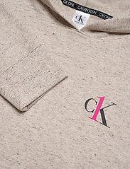 Calvin Klein - L/S HOODIE - góry - buff heather - 2