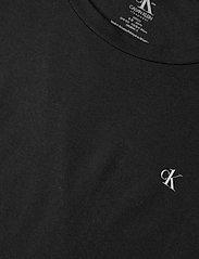 Calvin Klein - S/S CREW NECK 2PK - t-shirty - black - 1