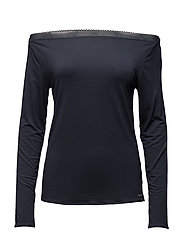 L/S PJ TOP - SPEAKEASY