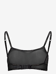 Calvin Klein - BRALETTE UNLINED BACK CLOSURE - soutien-gorge souple - black - 1