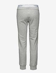 Calvin Klein - BOTTOM PANT JOGGER - doły - grey heather - 1