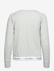 Calvin Klein - TOP SWEATSHIRT LONG SLEEVE - overdeler - grey heather - 2