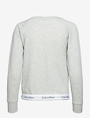 Calvin Klein - TOP SWEATSHIRT LONG SLEEVE - góry - grey heather - 2