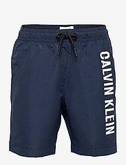 Calvin Klein - MEDIUM DRAWSTRING - badehosen - navy iris - 0
