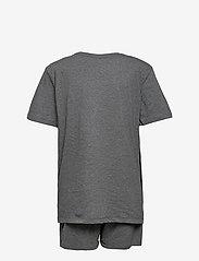 Calvin Klein - KNIT PJ SET (SS+SHORT) - pyjamas - grey heather - 1