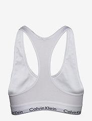Calvin Klein - BRALETTE - bra without wire - white - 1
