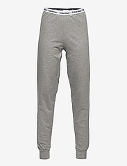 Calvin Klein - SS KNIT PJ SET - ondergoedsets - white/grey htr - 2