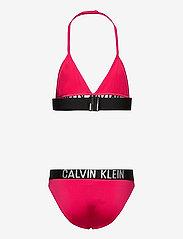 Calvin Klein - TRIANGLE BIKINI SET - bikinis - pink heart - 1