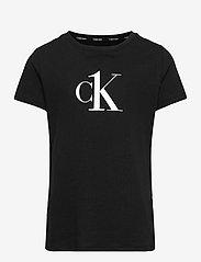 Calvin Klein - 2PK TEES - t-shirts - pvhwhite/pvhblack - 2