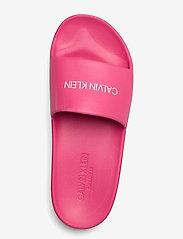 Calvin Klein - ONE MOLD SLIDE - pool sliders - pink heart - 3