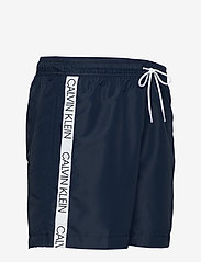 Calvin Klein - MEDIUM DRAWSTRING - badehosen - black iris - 3