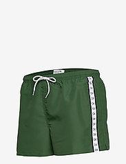 Calvin Klein - SHORT DRAWSTRING - badehosen - dark green - 3