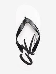 Calvin Klein - FF SANDALS - teen slippers - pvh classic white - 3