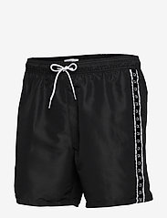 Calvin Klein - MEDIUM DRAWSTRING - badehosen - pvh black - 2