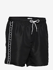 Calvin Klein - MEDIUM DRAWSTRING - badehosen - pvh black - 3