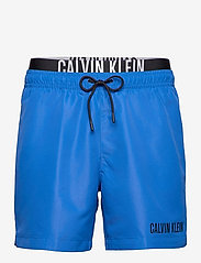 Calvin Klein - MEDIUM DOUBLE WB - shorts de bain - bobby blue - 0