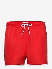 Calvin Klein - SHORT RUNNER - shorts de bain - fierce red - 0