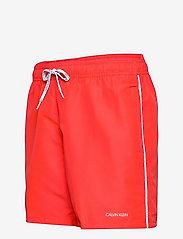 Calvin Klein - MEDIUM DRAWSTRING - shorts de bain - fierce red - 2
