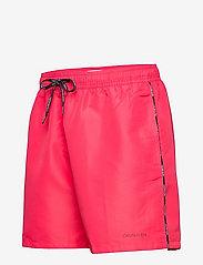 Calvin Klein - MEDIUM DRAWSTRING - shorts de bain - pink heart - 2