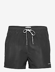 Calvin Klein - SHORT RUNNER-PACKABLE - shorts de bain - pvh black - 0