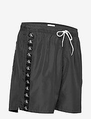 Calvin Klein - MEDIUM DRAWSTRING - shorts de bain - pvh black - 3