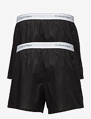 Calvin Klein - BOXER SLIM 2PK - boxershorts - black/black - 1