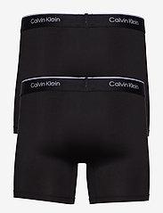 Calvin Klein - BOXER BRIEF 2PK - sous-vêtements - black/black - 2