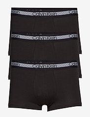 Calvin Klein - TRUNK 3PK - boxershorts - black - 0